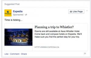 Expedia Retargeting Example